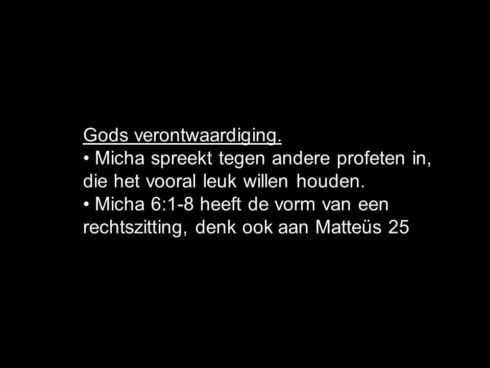 Gods verontwaardiging.