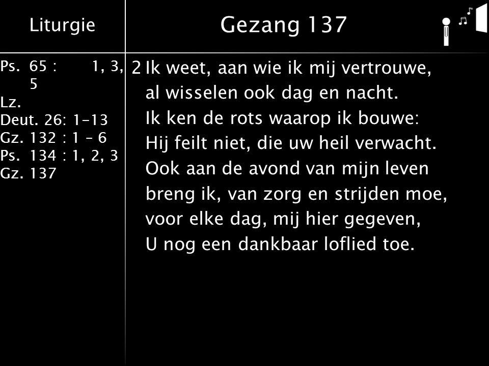 Gezang 137