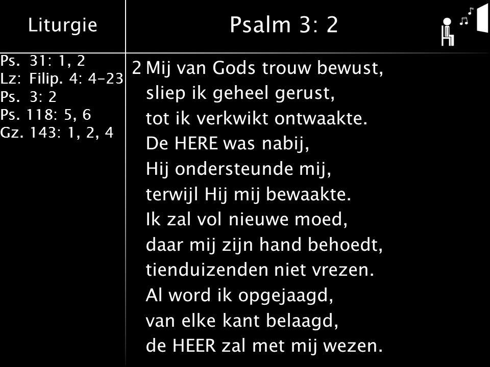 Psalm 3: 2