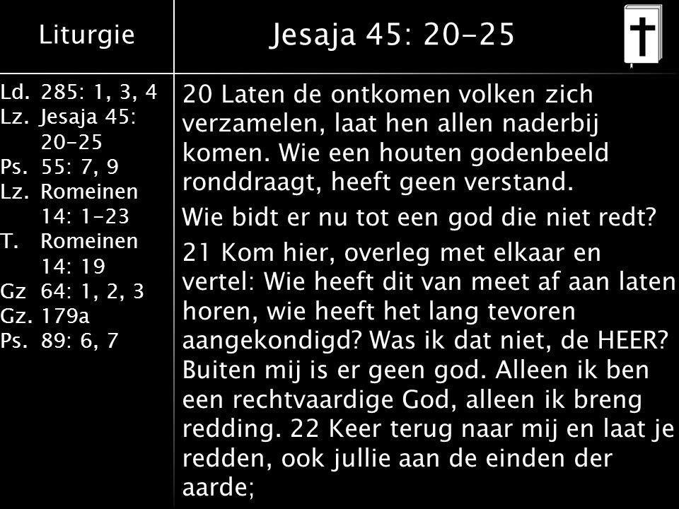 Jesaja 45: 20-25