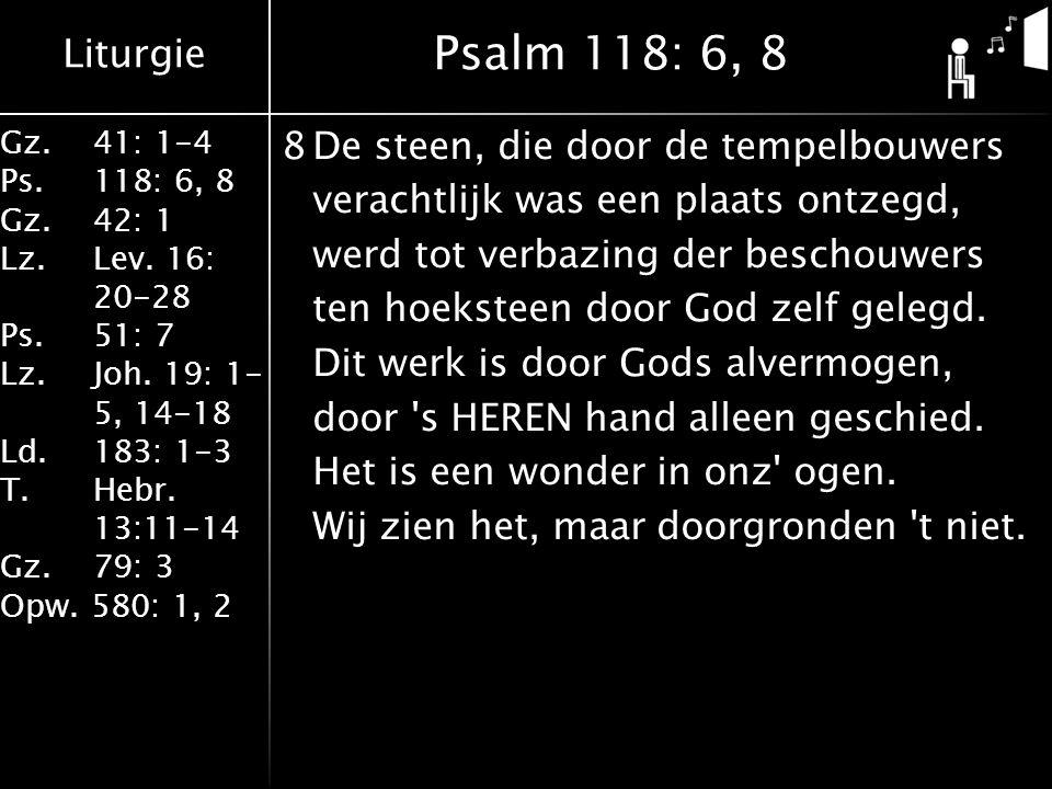 Psalm 118: 6, 8