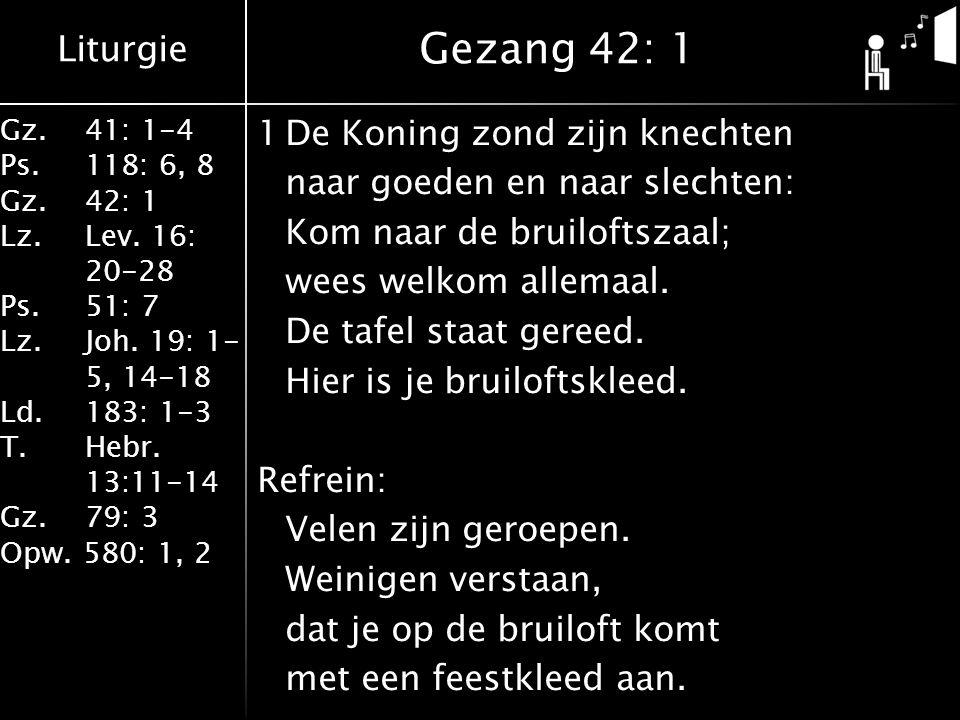 Gezang 42: 1