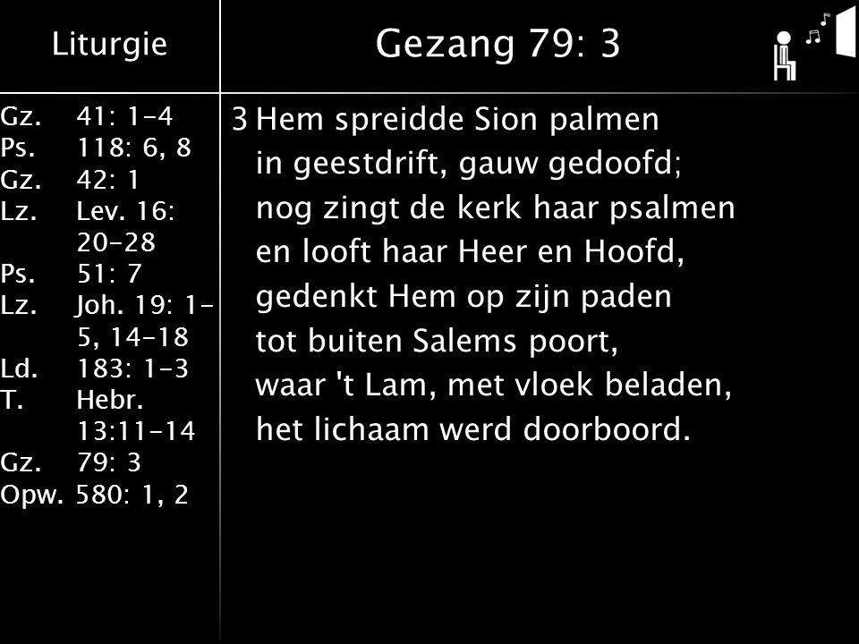 Gezang 79: 3