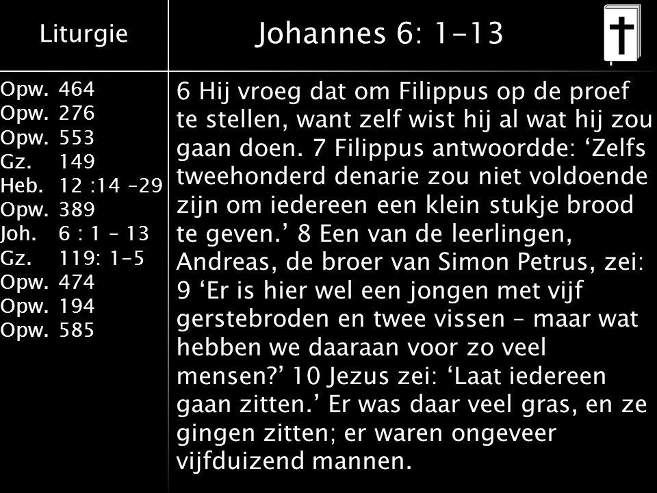Johannes 6: 1-13