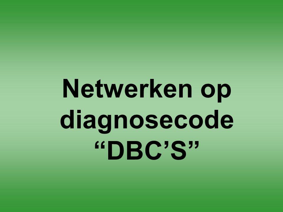 Netwerken op diagnosecode DBC'S