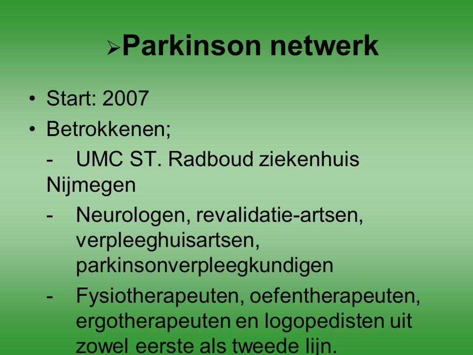 - UMC ST. Radboud ziekenhuis Nijmegen