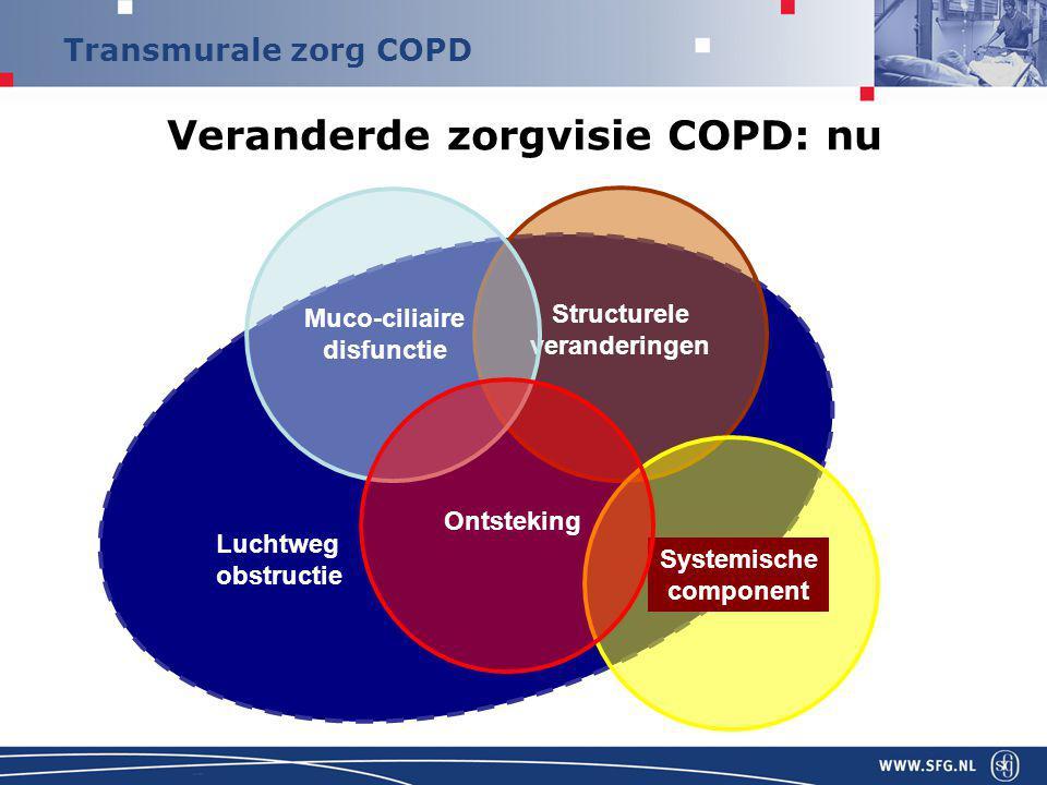 Veranderde zorgvisie COPD: nu