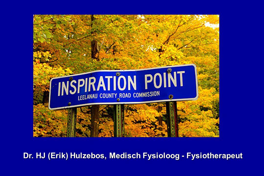 Dr. HJ (Erik) Hulzebos, Medisch Fysioloog - Fysiotherapeut