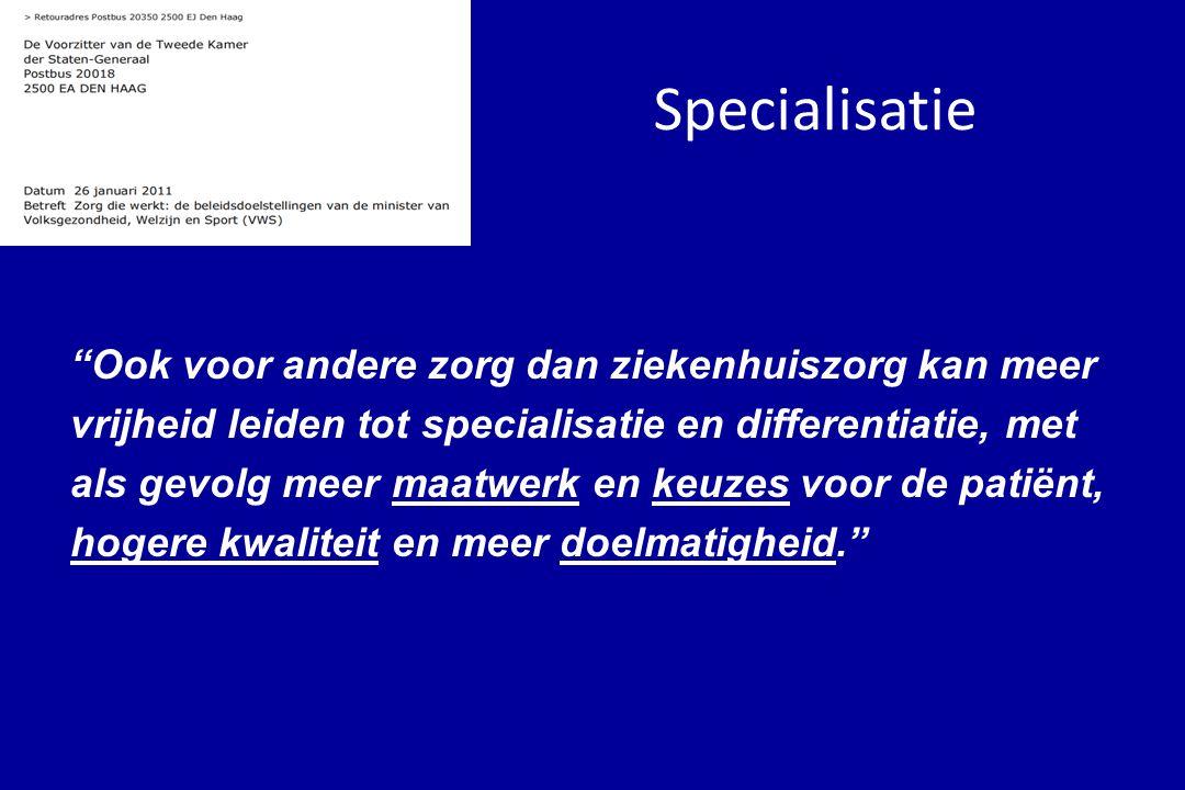 Specialisatie