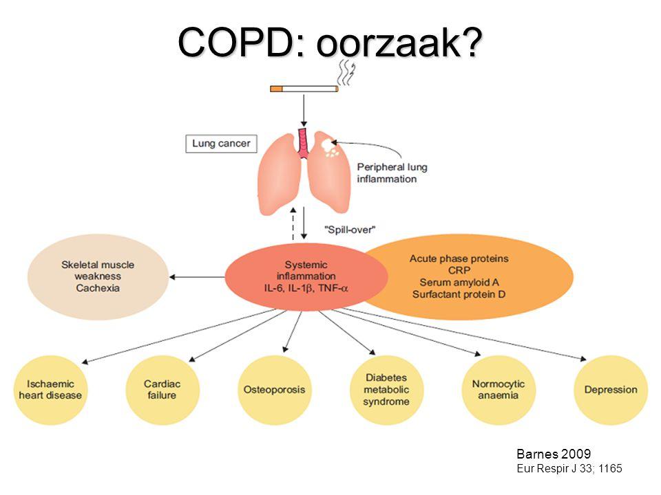 COPD: oorzaak