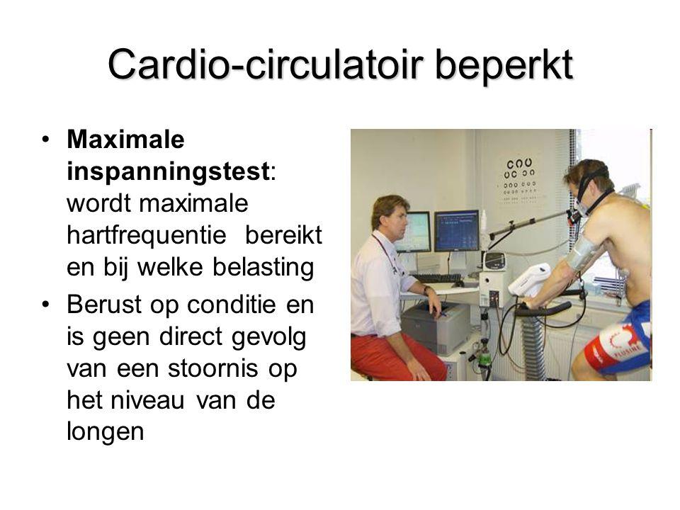 Cardio-circulatoir beperkt