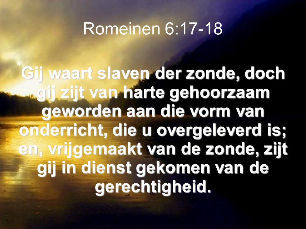 Romeinen 6:17-18