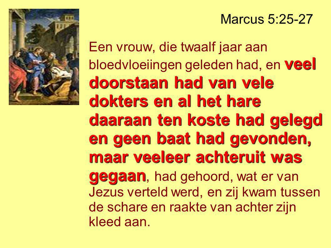 Marcus 5:25-27