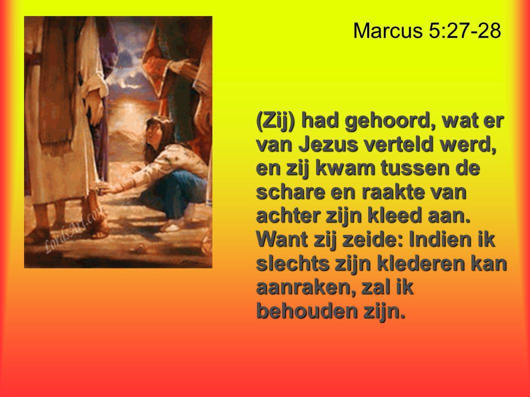 Marcus 5:27-28