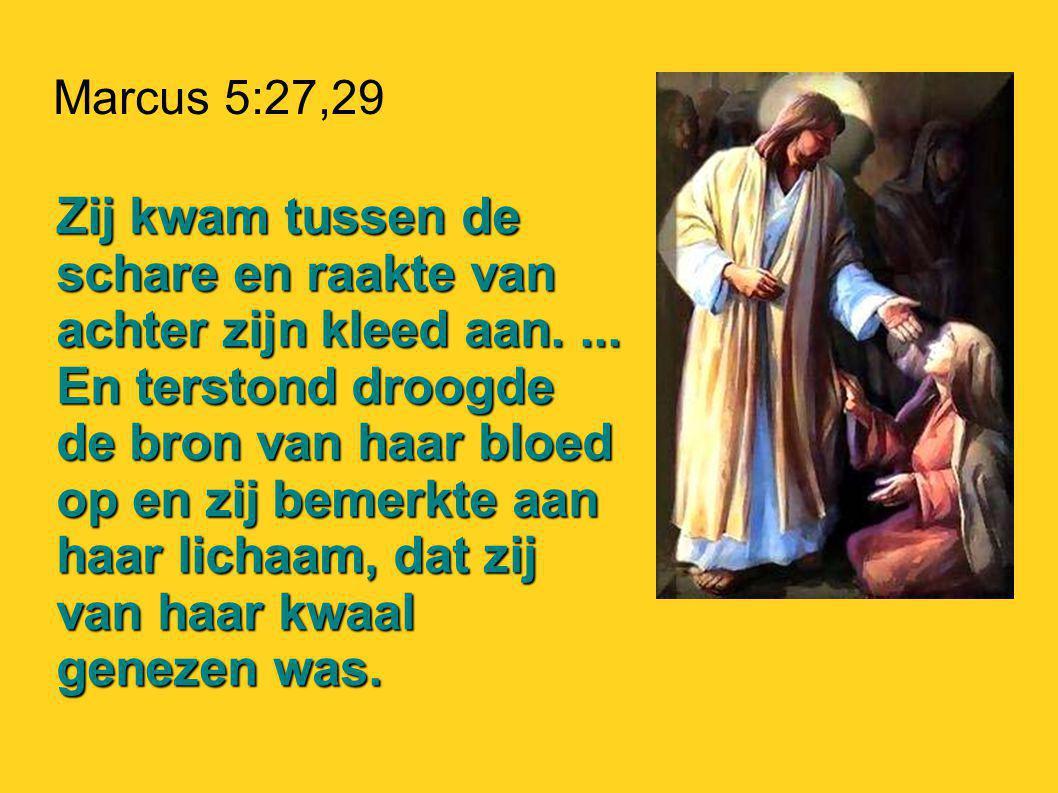 Marcus 5:27,29
