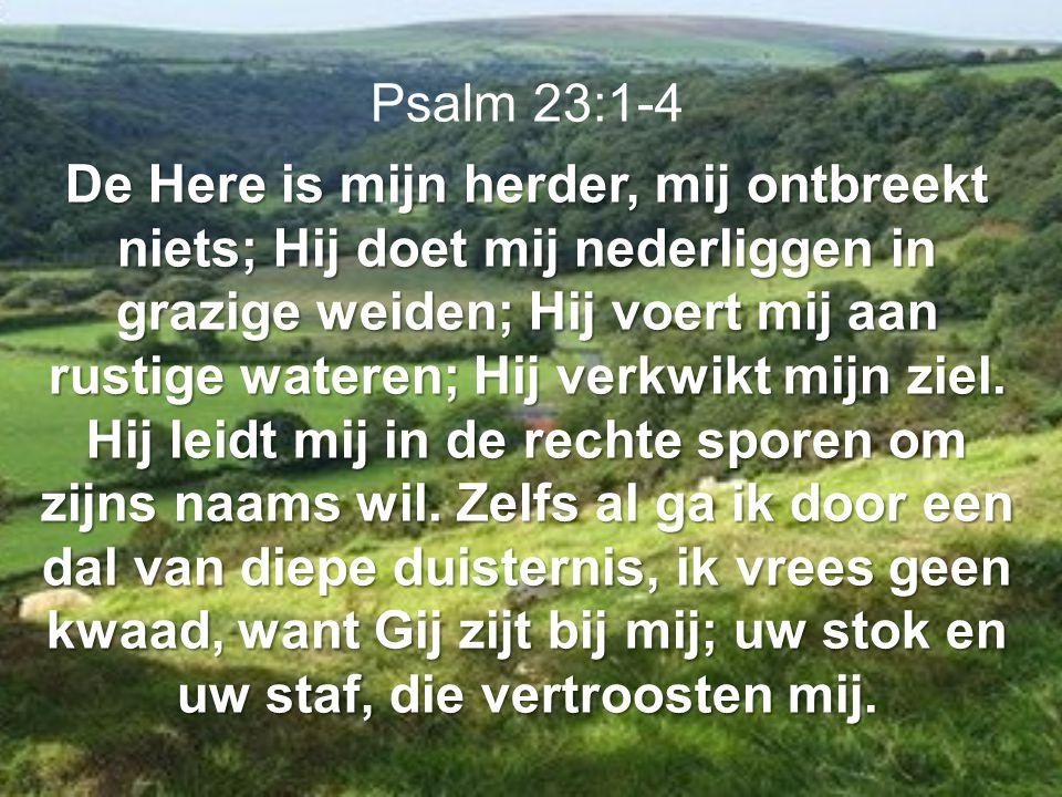 Psalm 23:1-4