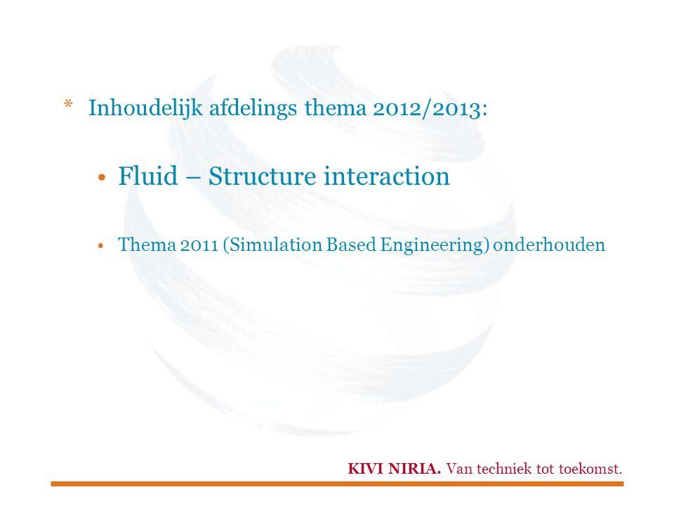 Fluid – Structure interaction