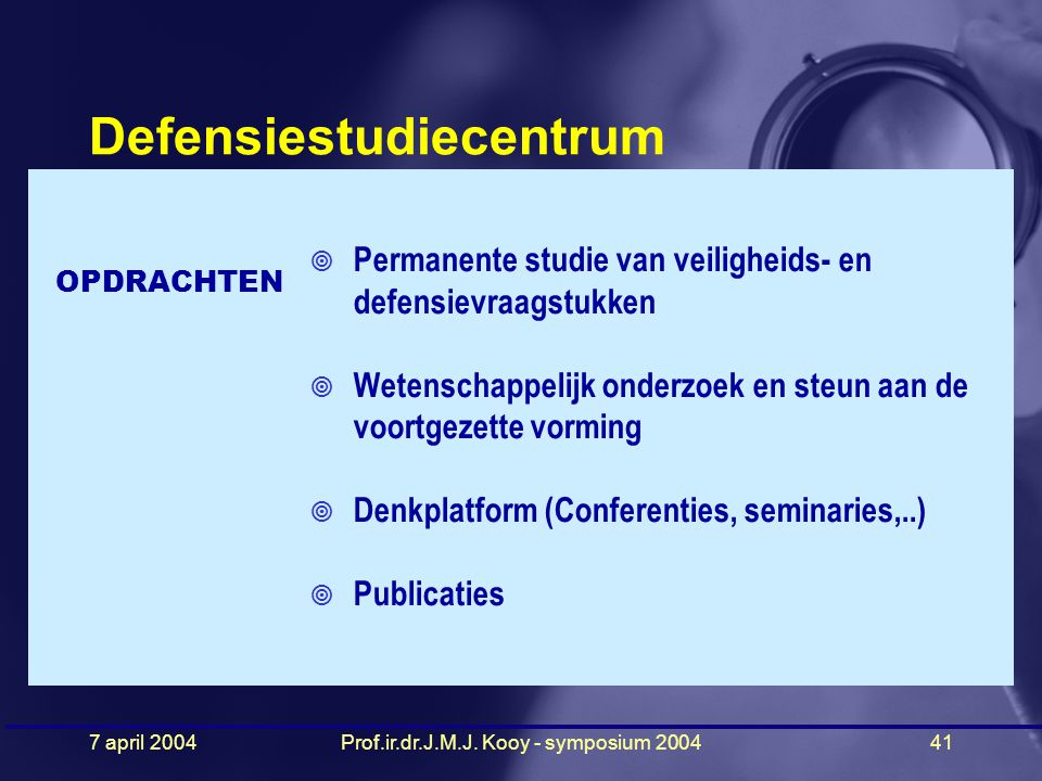 Defensiestudiecentrum