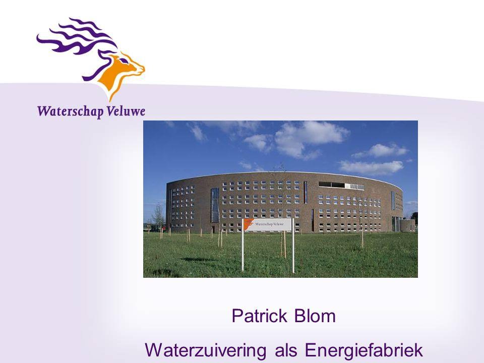 Waterzuivering als Energiefabriek