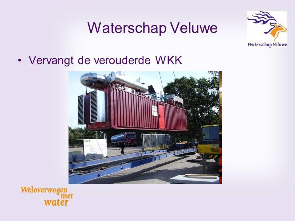 Waterschap Veluwe Vervangt de verouderde WKK