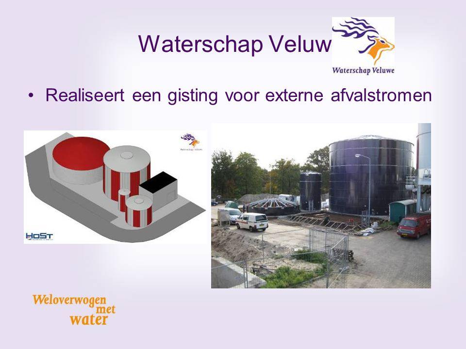 Waterschap Veluwe Realiseert een gisting voor externe afvalstromen