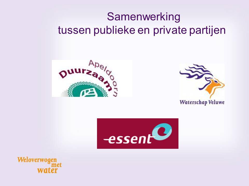 Samenwerking tussen publieke en private partijen