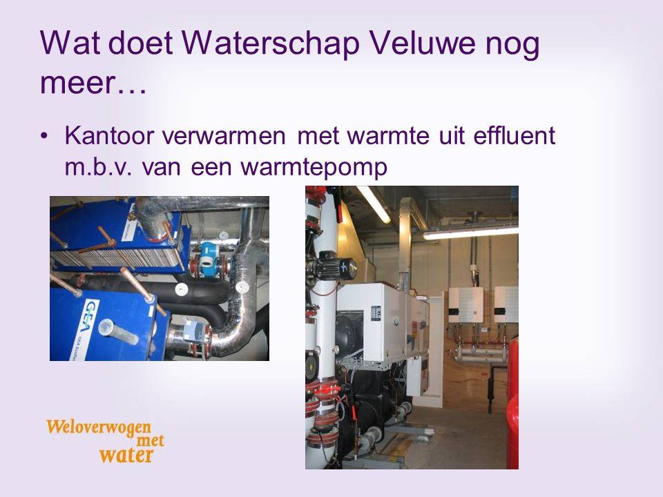 Wat doet Waterschap Veluwe nog meer…