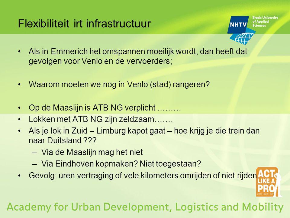 Flexibiliteit irt infrastructuur