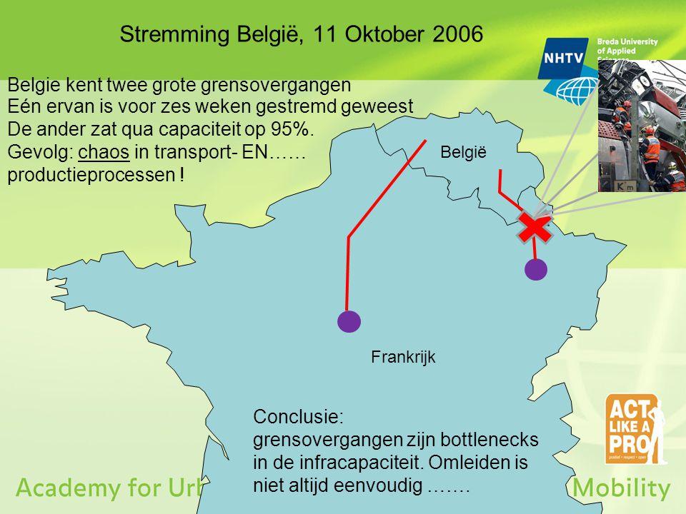 Stremming België, 11 Oktober 2006