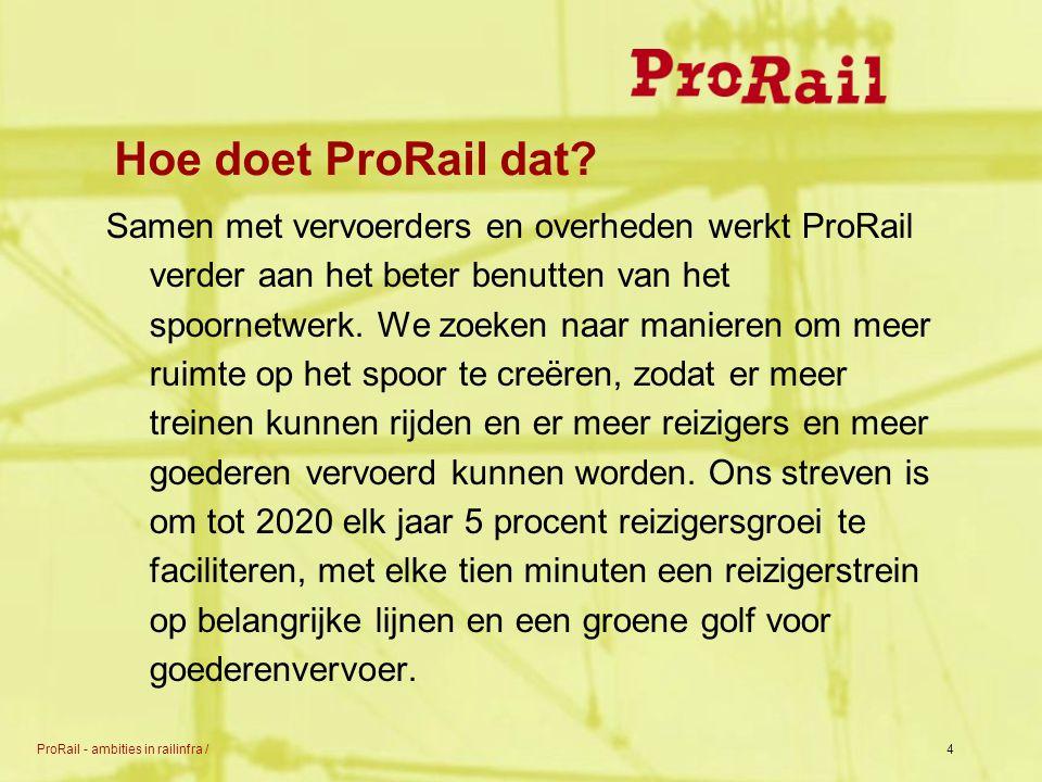 Hoe doet ProRail dat
