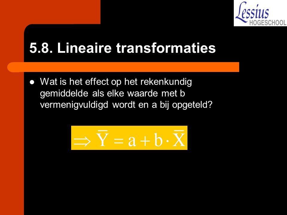 5.8. Lineaire transformaties