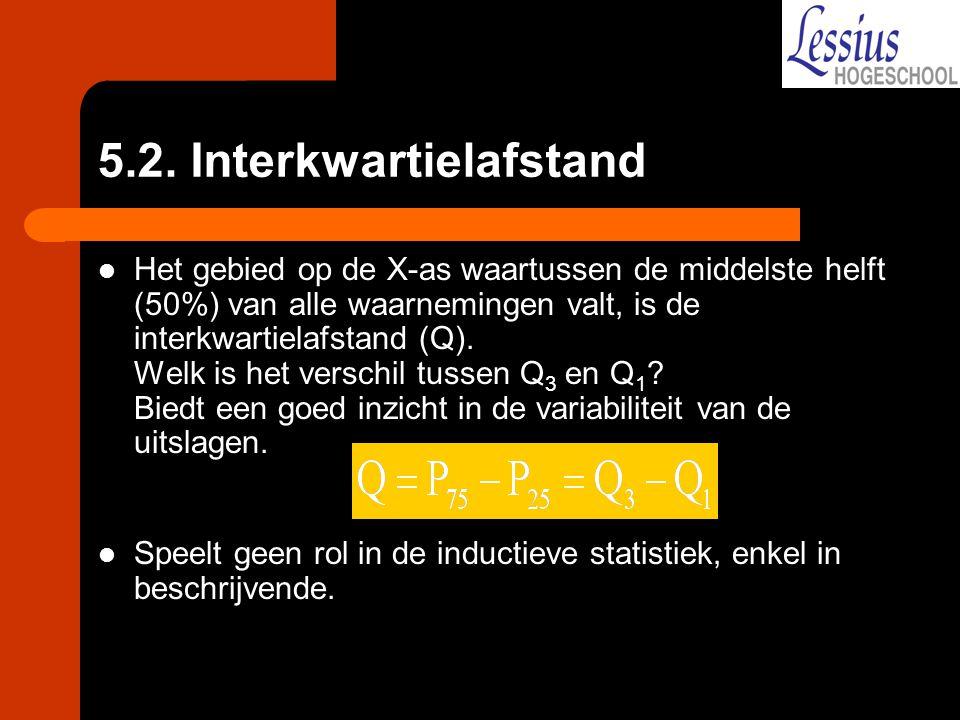 5.2. Interkwartielafstand