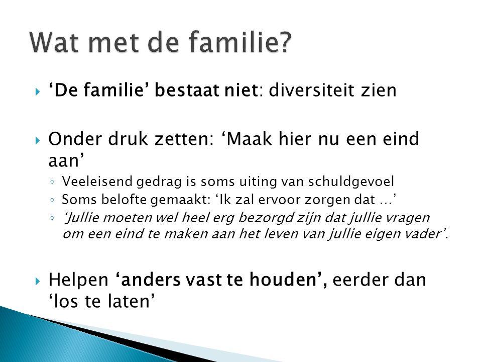 Wat met de familie 'De familie' bestaat niet: diversiteit zien