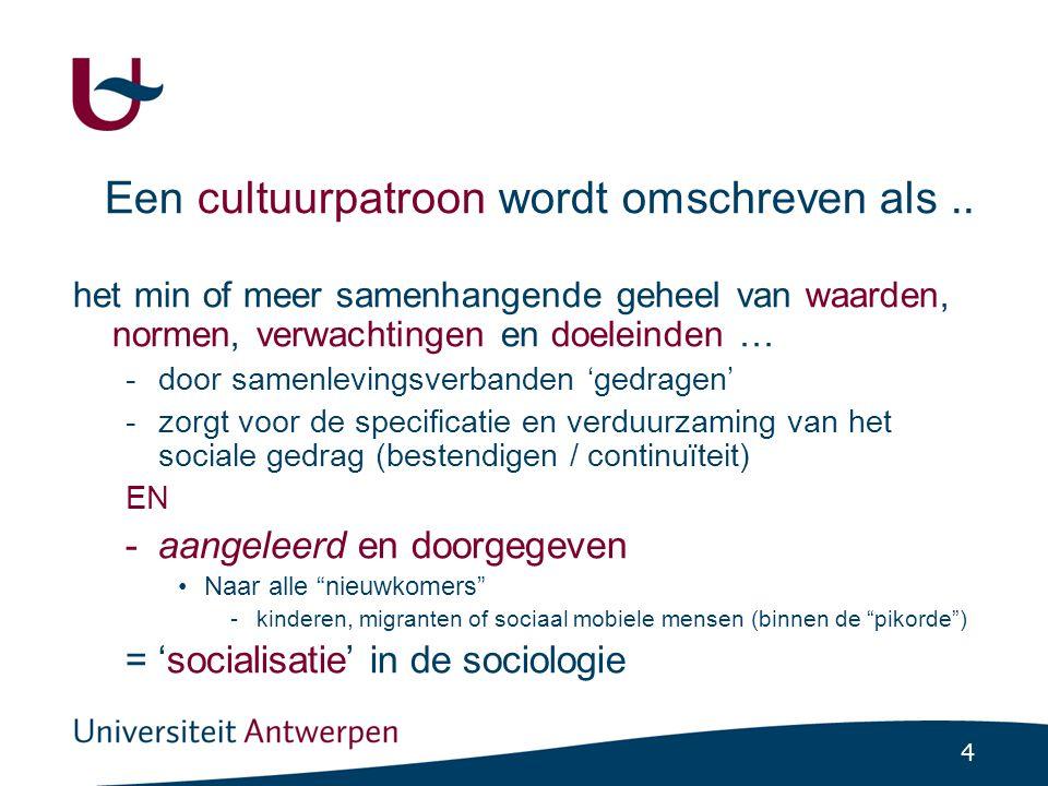 Socialisatie is maatschappelijk geen neutraal proces.