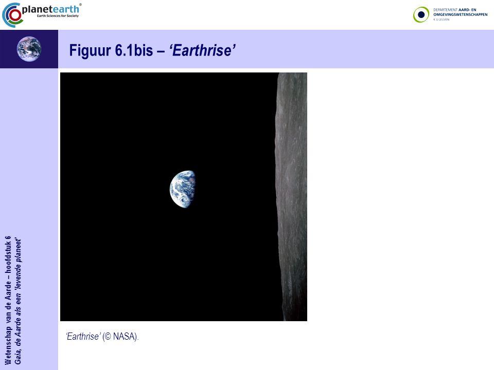 Figuur 6.1bis – 'Earthrise'