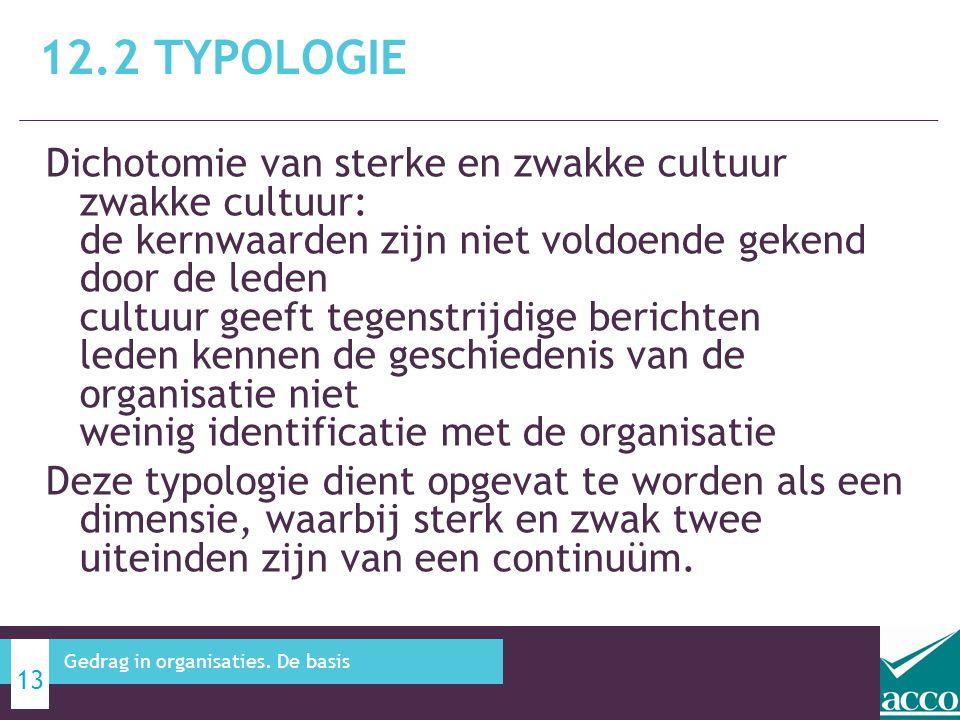 12.2 Typologie
