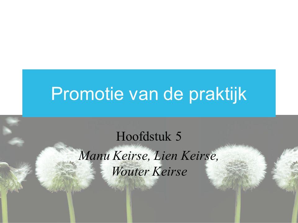 Promotie van de praktijk