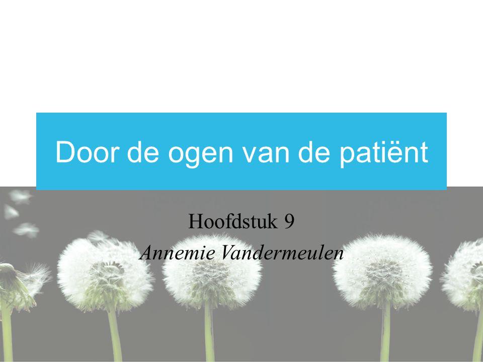 Door de ogen van de patiënt