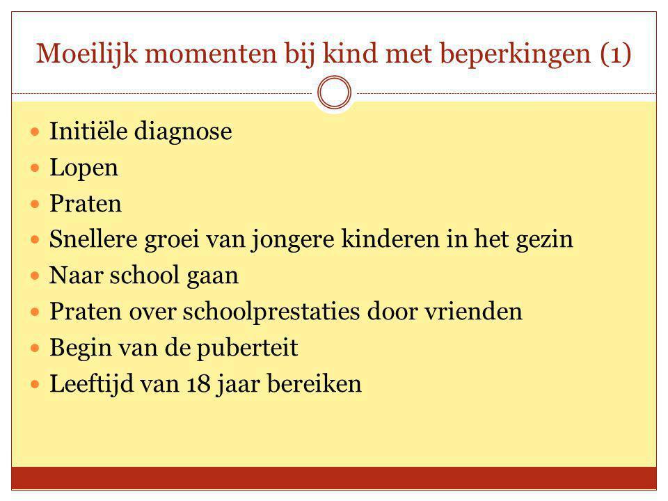 Moeilijk momenten bij kind met beperkingen (1)