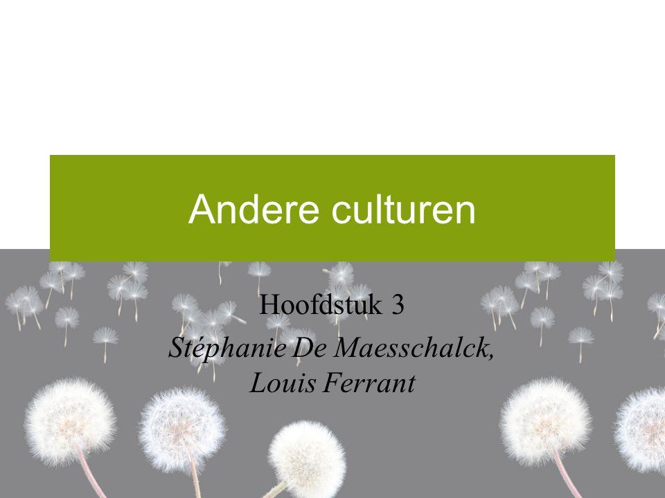 Hoofdstuk 3 Stéphanie De Maesschalck, Louis Ferrant