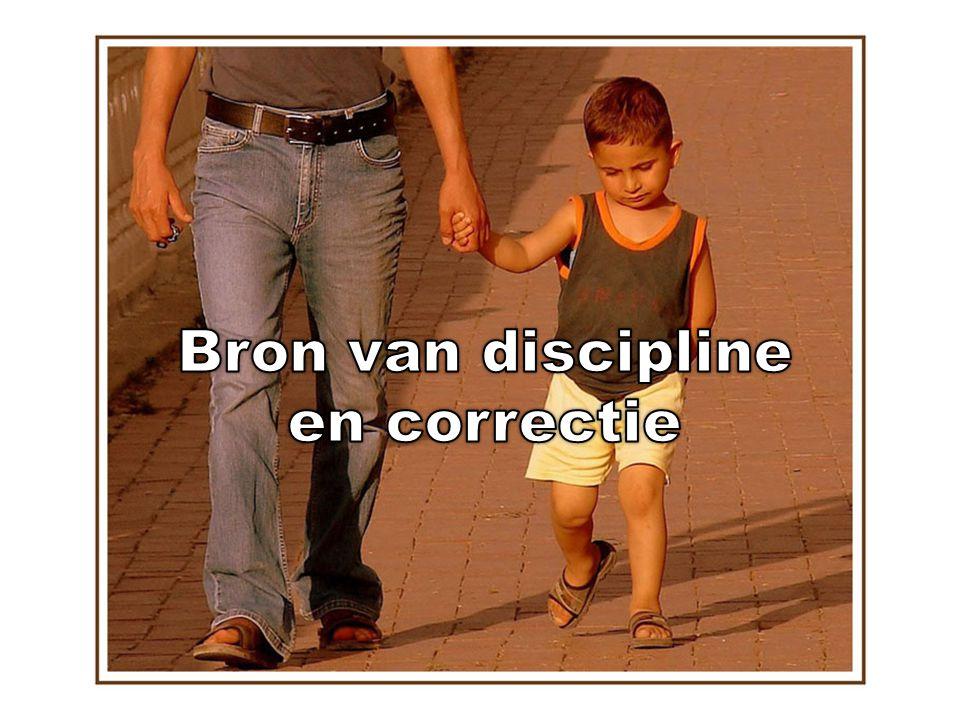 Bron van discipline en correctie