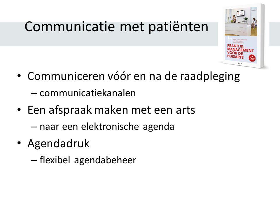 Communicatie met patiënten