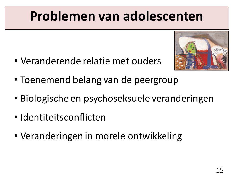 Problemen van adolescenten