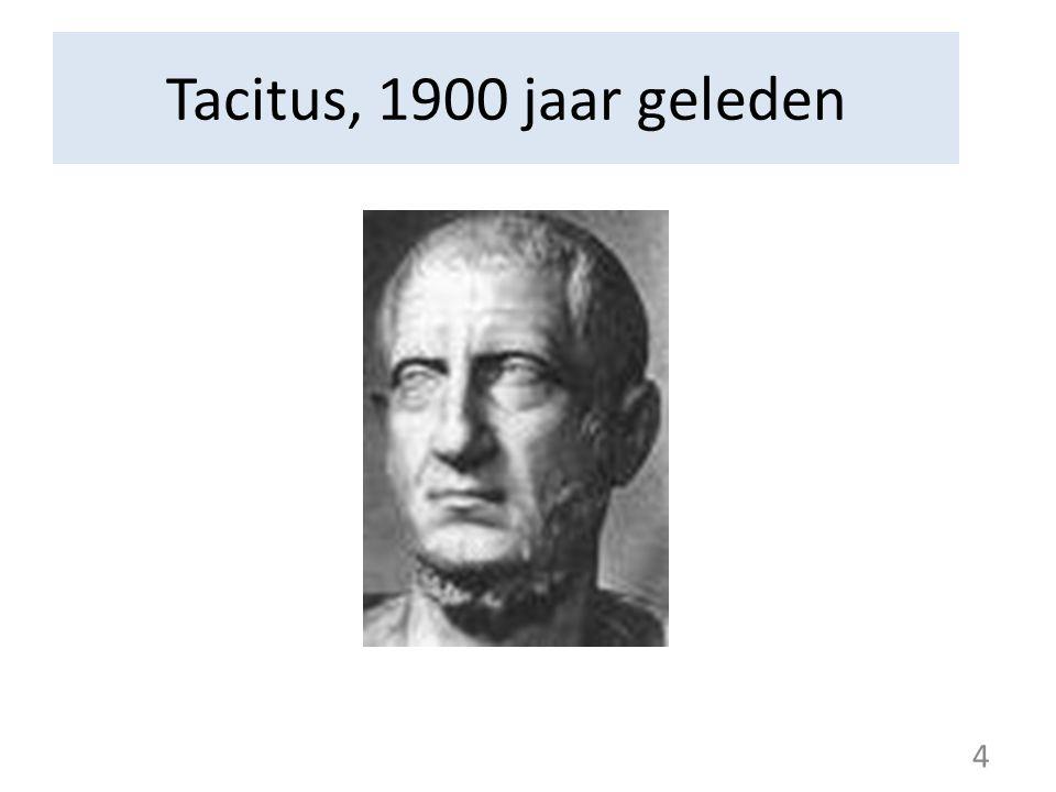 Tacitus, 1900 jaar geleden 4 4