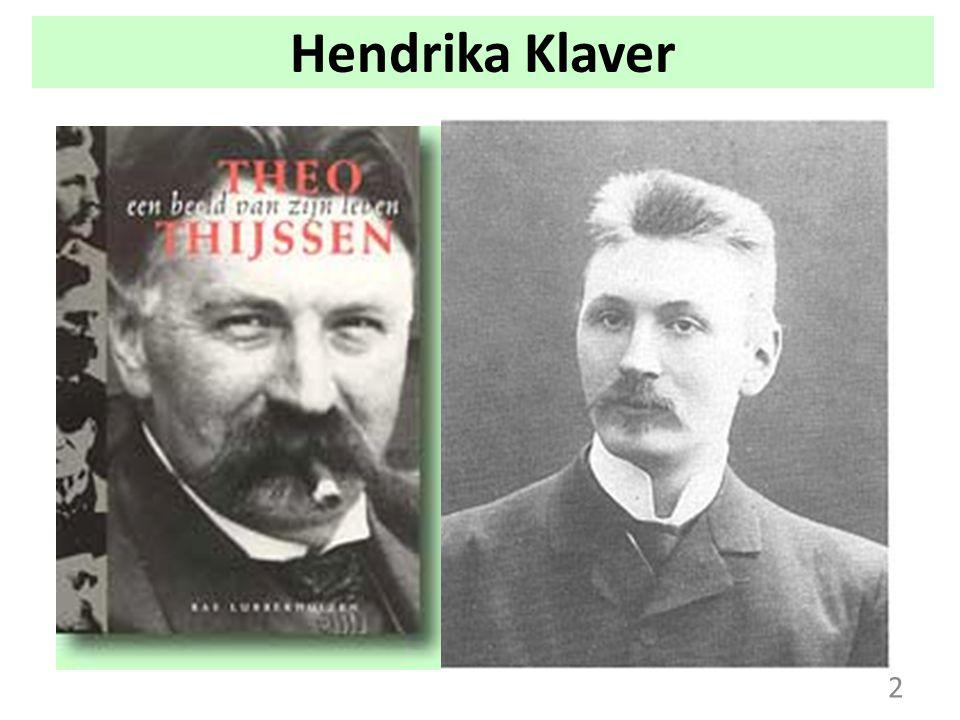Hendrika Klaver Theo Thijssen 2 2
