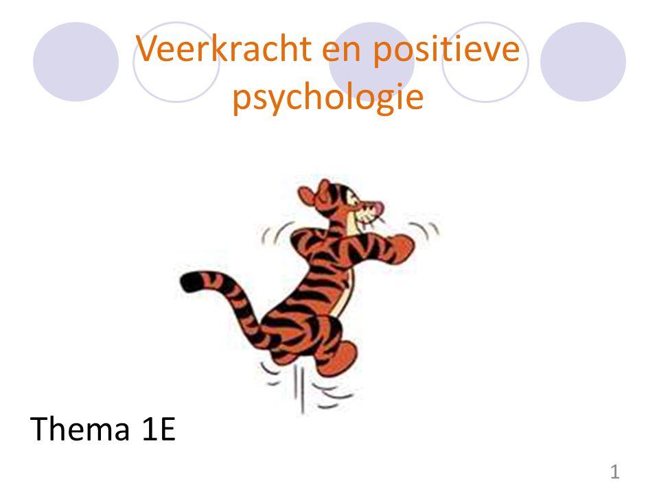 Veerkracht en positieve psychologie