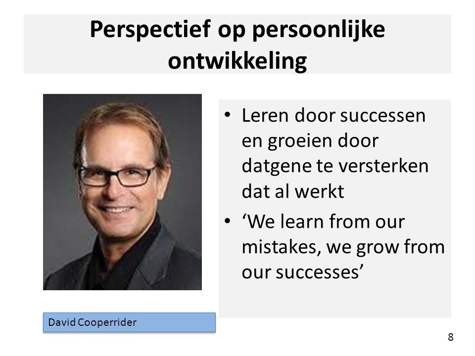 Perspectief op persoonlijke ontwikkeling