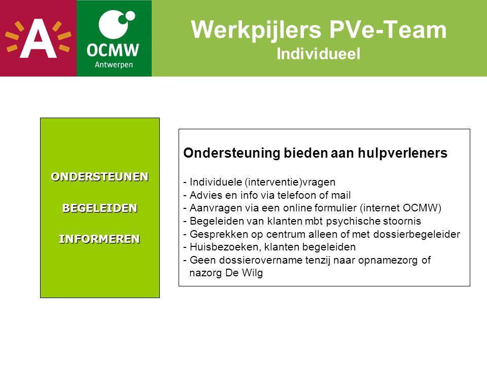 Werkpijlers PVe-Team Individueel
