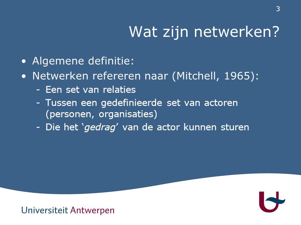 Netwerken van HSO's Hulpverleningsorganisaties: