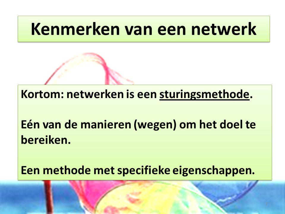 Kenmerken van een netwerk